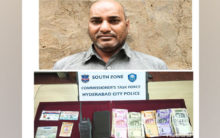 Hyderabad:Man nabbed for posing as police officer, duping people