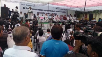 Photo of Leaders gather at Delhi resolve against Kashmir situation