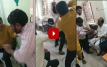 AIMIM MLA hits man, video goes viral