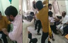 AIMIM MLA Brutally beat up a man