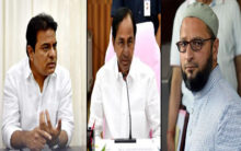 KCR and his son silent over developments in J&K