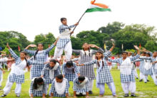 Full dress rehearsals for Independence Day function in Valley