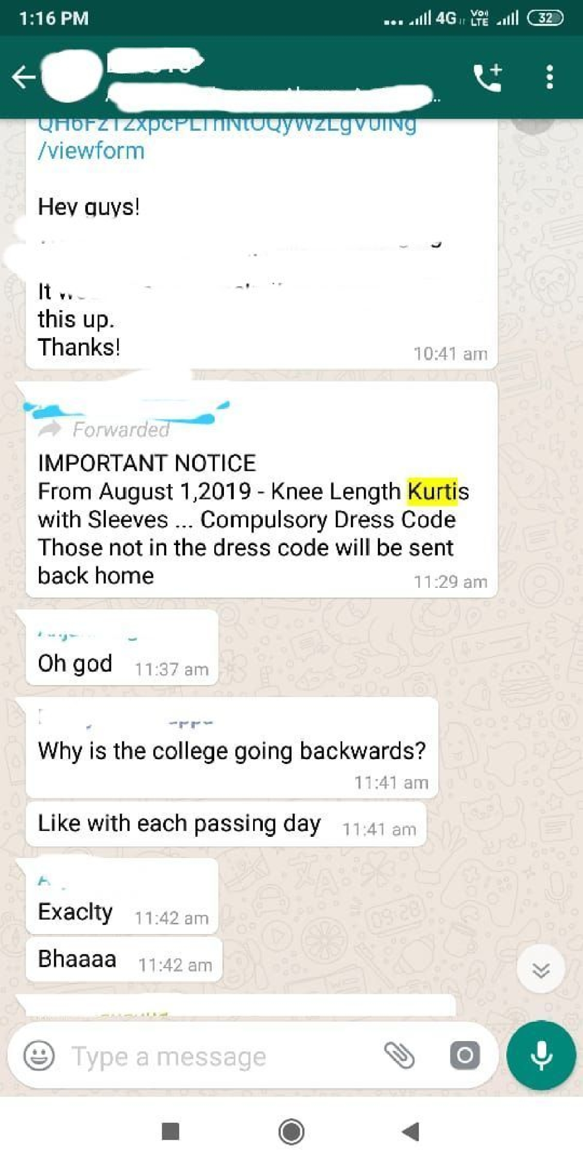 Length of a girl's Kurti decides future? – Siasat Daily