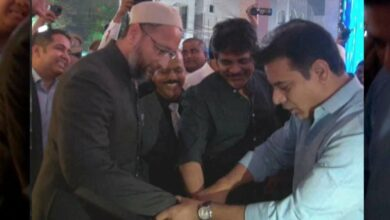 Photo of AIMIM Chief Owaisi wants KTR back in Cabinet