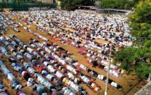 Eid celebrated with fervour in Andhra, Telangana states