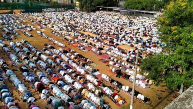 Photo of Eid celebrated with fervour in Andhra, Telangana states