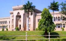 Admissions in Osmania University on merit