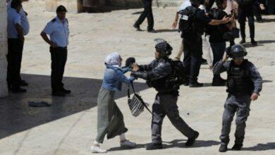 Photo of Eid at Al-Aqsa: Israeli force attack Palestinians