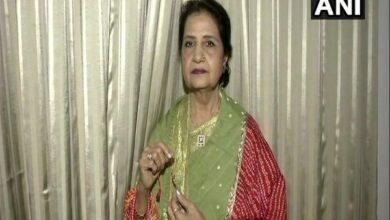Photo of Modi's rakhi sister Qamar Mohsin Shaikh hails triple talaq law