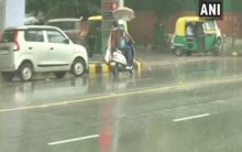 Delhi witnesses light rain