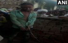Alwar: Man tied with rope, thrashed over suspicion of theft