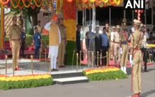 Hyderabad: HM attends passing out parade of IPS probationers