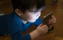 Too much screen time for children can lead to obesity