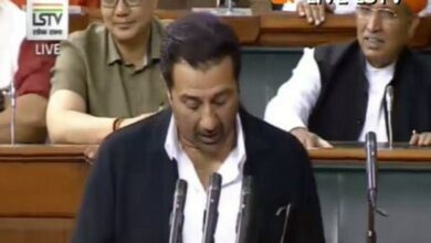 Photo of Sunny Deol skipped 28 days of Parliament