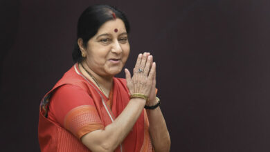 Photo of Former External Affairs Minister Sushma Swaraj passes away