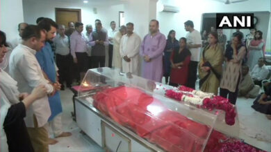 Photo of Sushma Swaraj to be cremated with full state honours today