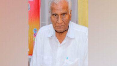 Photo of TDP leader Mallela Ananta Padmanabha Rao passes away