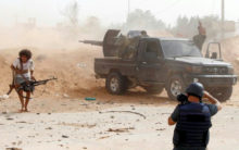 Libya journalists caught in the crossfire