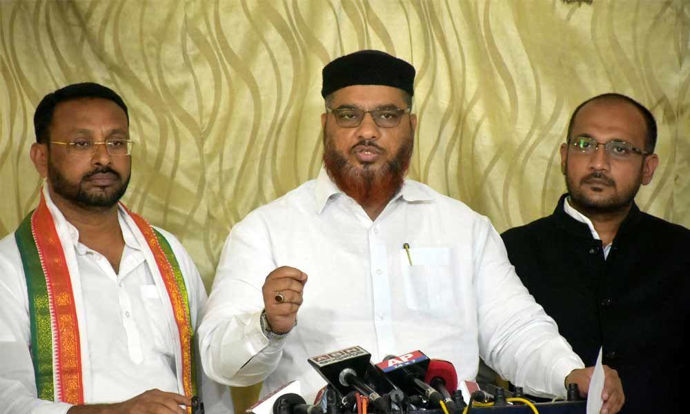 Enhance minorities' quota in 2BHK scheme: Congress