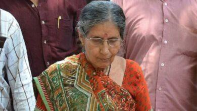Photo of Modi's wife offers puja at Kalyaneshwari temple