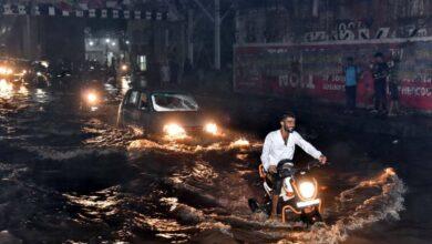 Photo of City Roads after Heavy Rain