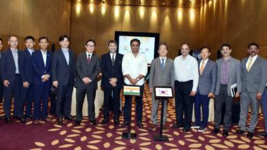 Photo of Korean ambassador meeting KTR