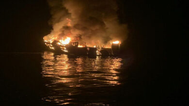 Photo of 33 bodies recovered after California dive boat disaster