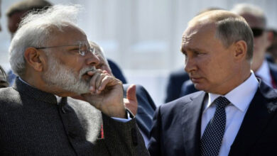 Photo of Modi explains J&K decision to Putin, says 'false' info spread