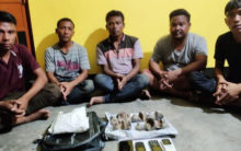 Assam: Rhino nails seized, 5 arrested in Biswanath