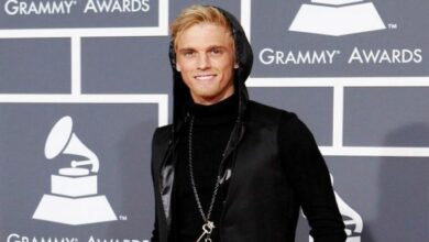 Photo of Aaron Carter diagnosed with Schizophrenia, Bipolar Disorder