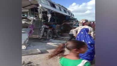 Photo of Ajmer: 8 dead, 20 injured in bus-truck accident