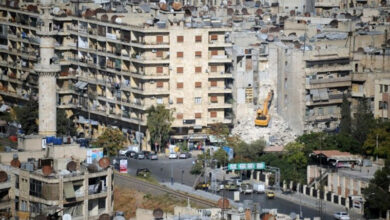 Photo of In Syria's Aleppo, reconstruction makes slow start