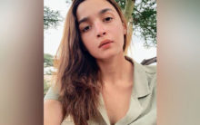 Alia Bhatt shares glimpse of 'Takht' session
