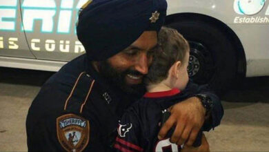 Photo of America's first Sikh cop shot dead