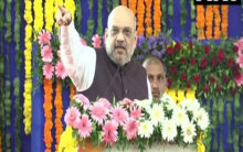 Shah slams Congress, Nehru responsible for Pak-occupied Kashmir