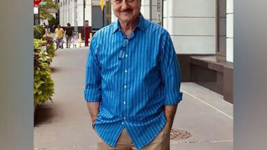 Photo of Anupam Kher attends Gandhi@150 event at UN
