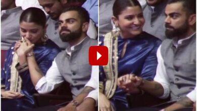 Photo of Anushka Sharma, Virat Kohli steal romantic moments at event