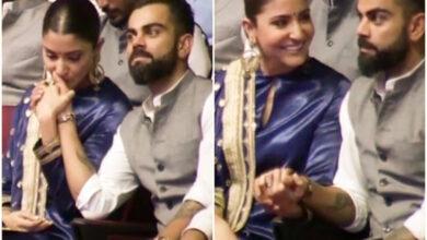 Photo of Anushka praises husband Virat for hosting Indian Sports Honour