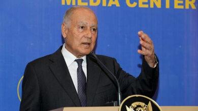 Photo of Despite suspension, Syria FM greets Arab League chief at UN