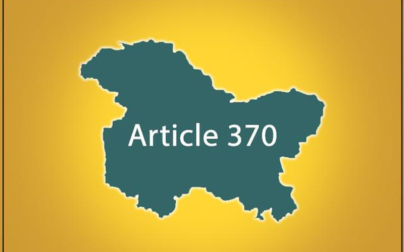 Abrogation of Article 370 : SC sets up Constitution bench