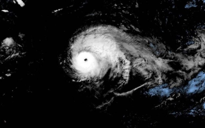 Hurricane Lorenzo strengthens to Category 5 in Atlantic Ocean