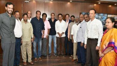 Azharuddin calls on KTR amid talks of joining TRS