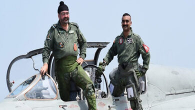 Photo of IAF Chief Dhanoa, Abhinandan fly MiG-21 together