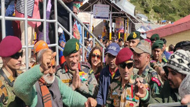 Photo of Army Chief Bipin Rawat visits Badrinath Temple