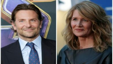Photo of Laura Dern rubbishes dating rumours with Bradley Cooper