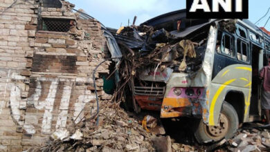 Photo of MP: Bus rams into house, 7 injured