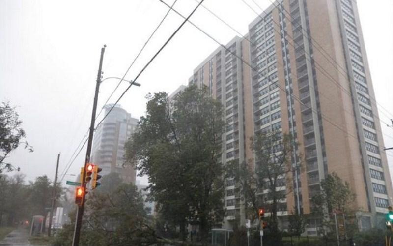 Hurricane Dorian makes landfall in Canada