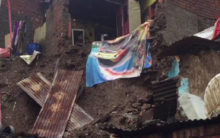 MP: Some houses collapse due to heavy rain in Mandsaur
