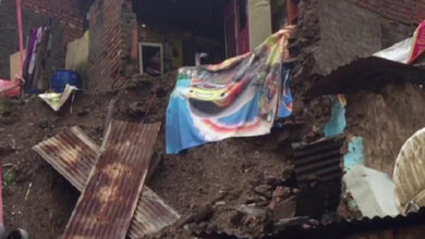 Photo of MP: Some houses collapse due to heavy rain in Mandsaur