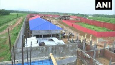 Photo of Construction work in full swing at India's first detention centre in Assam's Goalpara